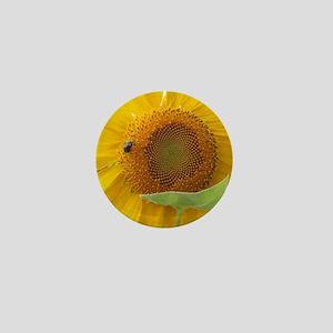 Sun Flower and Friend Mini Button