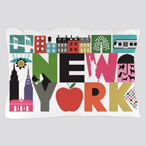 Unique New York - Block by Block Pillow Case