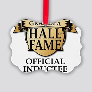 GRANDPA Hall of Fame Inductee Picture Ornament