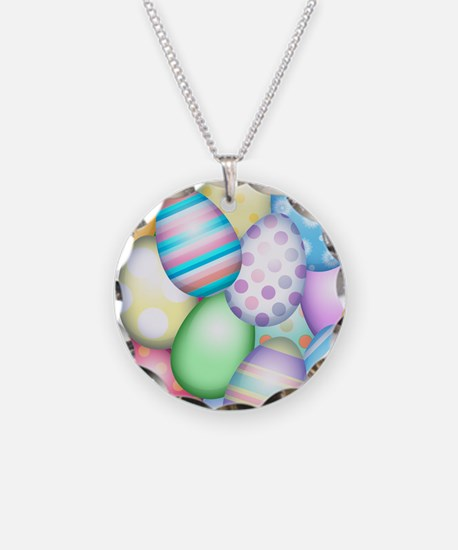 Decorated Eggs Necklace