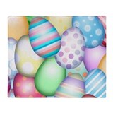 Easter egg Fleece Blankets