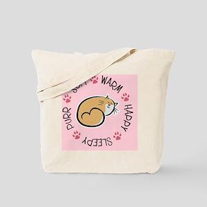 Soft Kitty Tote Bag