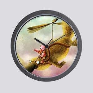 Pfft Who Says I Cant Fly? Wall Clock