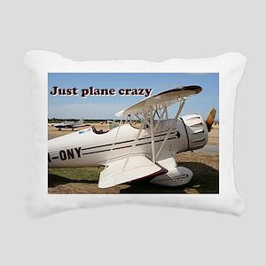 Just plane crazy: Waco a Rectangular Canvas Pillow