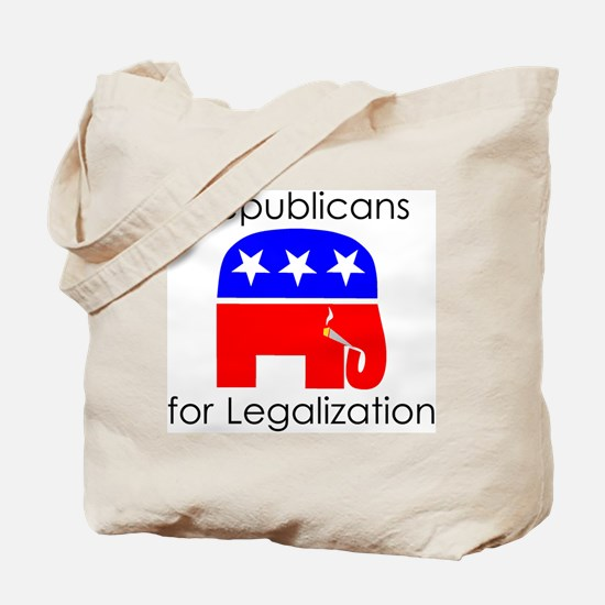 Republicans for Legalization Tote Bag