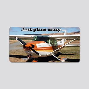 Just plane crazy: Cessna Sk Aluminum License Plate