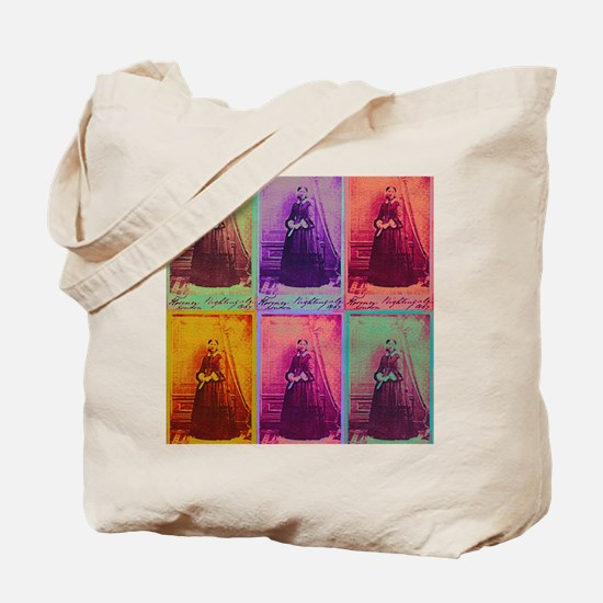 Florence Nightingale Colors Tote Bag