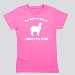 adventureAlpaca1B Girl's Tee