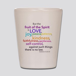 Fruits of the Spirit Shot Glass