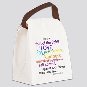 Fruits of the Spirit Canvas Lunch Bag