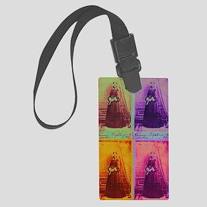 Florence Nightingale Colors 4 Large Luggage Tag