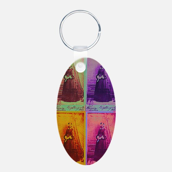 Florence Nightingale Colors Keychains