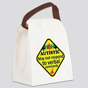 Autistic Canvas Lunch Bag