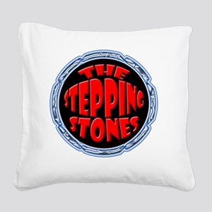 The Stepping Stones Square Canvas Pillow