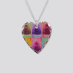 Florence Nightingale Colors 1 Necklace Heart Charm