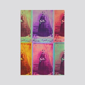 Florence Nightingale Colors 1a Rectangle Magnet