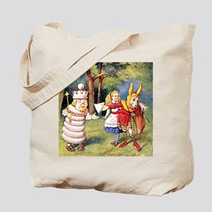 Alice THE WHITE KING_SQ Tote Bag
