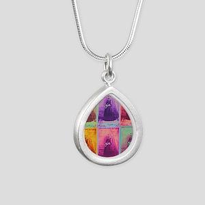 Florence Nightingale Col Silver Teardrop Necklace