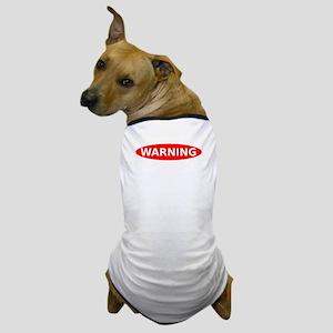 May Contain Wine Warning Dog T-Shirt