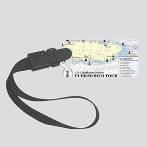 Puerto Rico Lighthouse Tour Small Luggage Tag