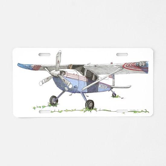Cassna 180 Aluminum License Plate