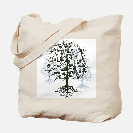 Guitar Tree Tote Bag