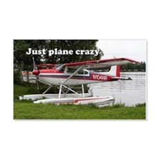 Just plane crazy: Cessna float pl Wall Decal