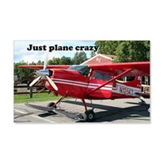 Just plane crazy: skiplane, Alask Wall Decal