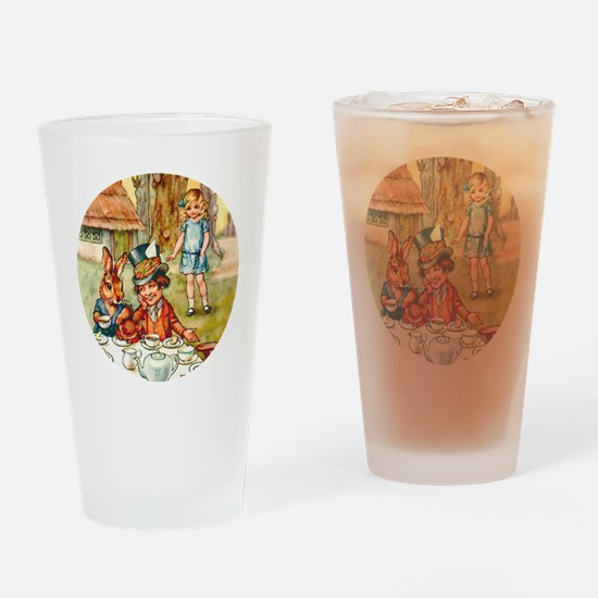 ALICE TEA PARTY_RD Drinking Glass