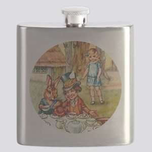 ALICE TEA PARTY_RD Flask