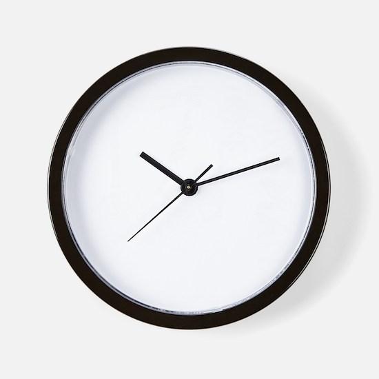 Hangmans Joke Wall Clock