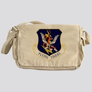 23rd FW Flying Tigers Messenger Bag