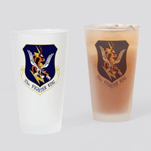 23rd FW Flying Tigers Drinking Glass