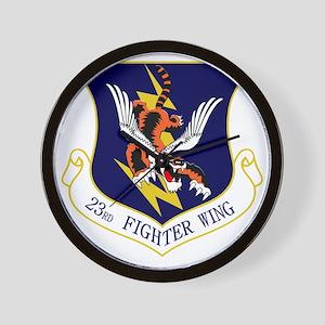 23rd FW Flying Tigers Wall Clock