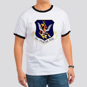 23rd FW Flying Tigers Ringer T