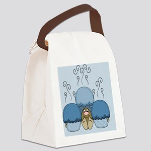 Template Image Canvas Lunch Bag