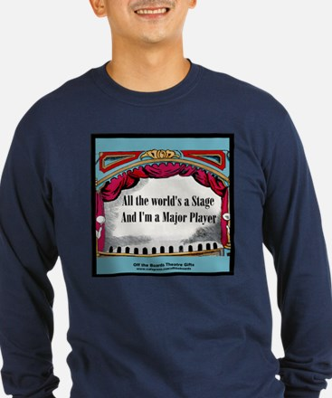 All the World's A Stage in Bl T