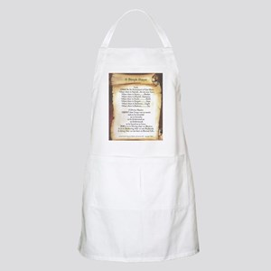 Pope Francis St. Francis SIMPLE PRAYER-Scrol Apron