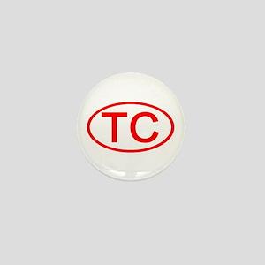 TC Oval (Red) Mini Button