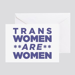 Trans Women Are Women Greeting Card