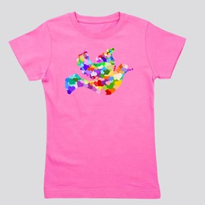 Rainbow Dove of Hearts T-Shirt