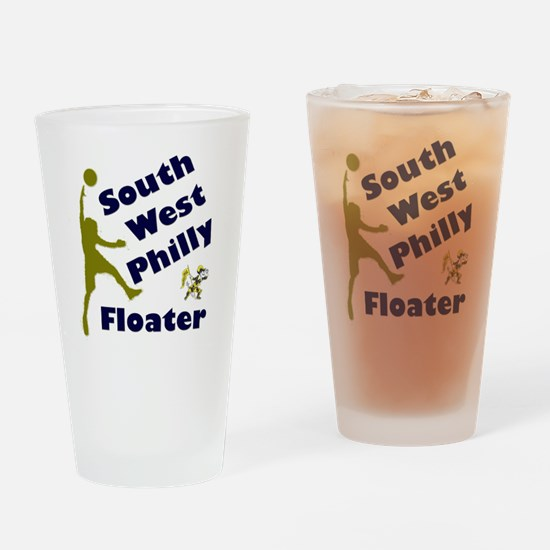 Southwest Philly Floater Drinking Glass