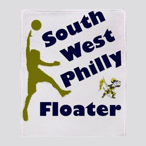 Southwest Philly Floater Throw Blanket
