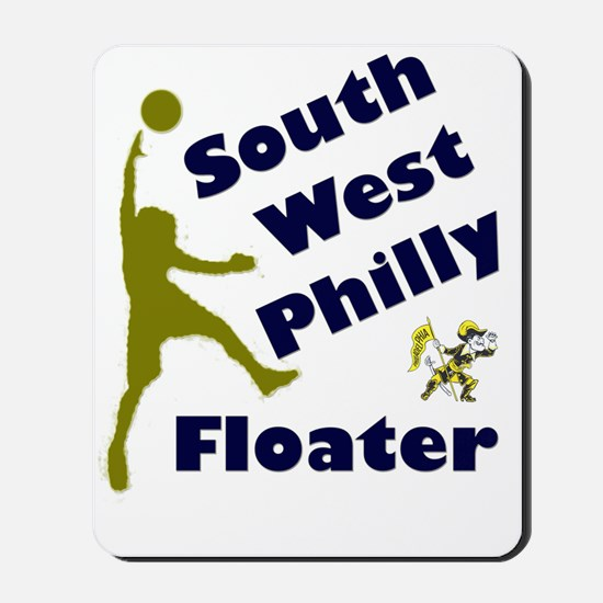 Southwest Philly Floater Mousepad