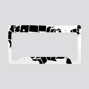 America: All Mixed Up  License Plate Holder