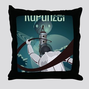 Rapunzel Sci Fi Throw Pillow