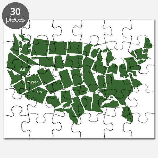 America: All Mixed Up Puzzle