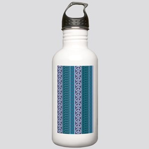 Peace Love Recycle Daw Stainless Water Bottle 1.0L