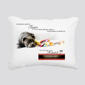The Stafford Knot rescue Rectangular Canvas Pillow