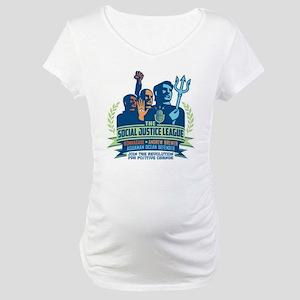 SJL Logo Maternity T-Shirt